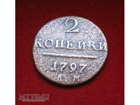 Duże zdjęcie 2 Kopiejki 1797