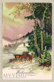 Duże zdjęcie 23.12.1934 Wesołych Świąt