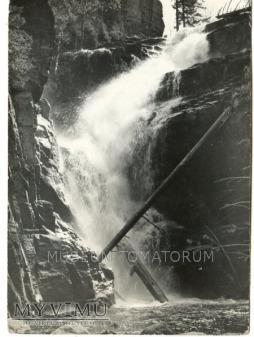 Karkonosze - Wodospad Kamieńczyka 1959