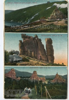 Karkonosze - Riesengebirge - skałki - lata 20-30