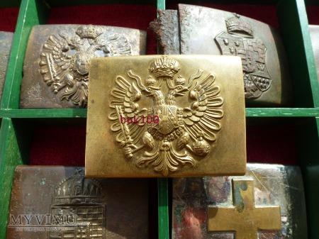 KLamra żołnierza CK wz.1888 tłoczona -szuflada .