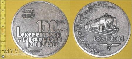 Medal kolejowy Lokomotywowni Czechowice - Dz.