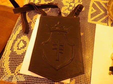Herb Pilawa- torba na dokumenty,mapnik,kaleta