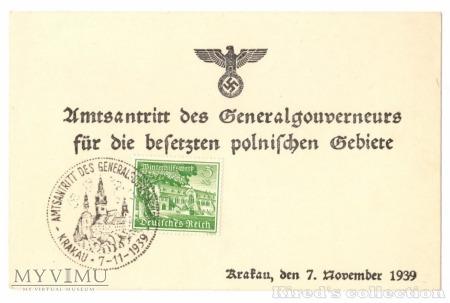 Kasownik nr 1. Amtsantritt des Generalgouverneurs