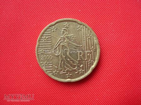 20 euro centów - Francja