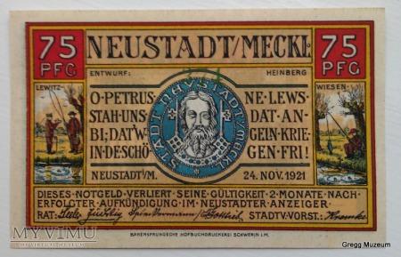 75 PFENNIG 1921 NOTGELD