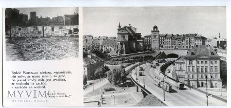 Warszawa - Trasa W-Z (Tunel od wschodu) - 1962