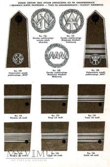 Oznaki szkolne: Wyższa Szkoła Oficerska (WSO)