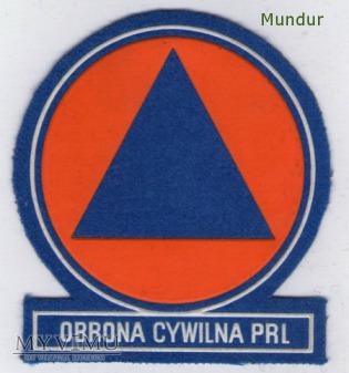 Emblemat OBRONA CYWILNA PRL
