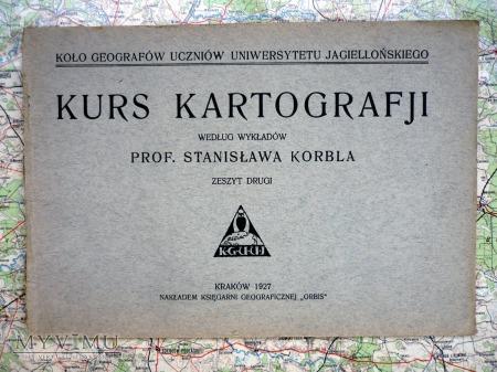 Duże zdjęcie KURS KARTOGRAFJI - prof. St. KORBEL - KRAKÓW 1927r