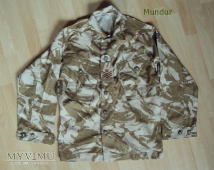 Brytyjski jacket combat desert DPM