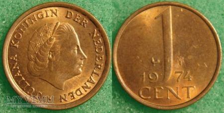 Holandia, 1974, 1 cent