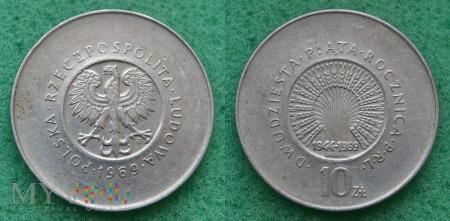 1969, 10 zł