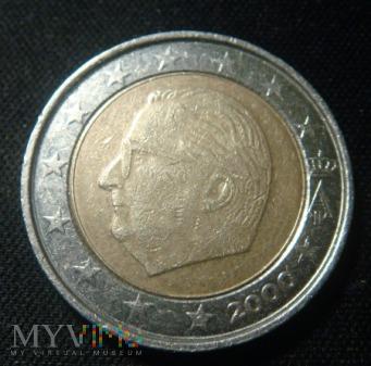 Belgia 2 euro 2000