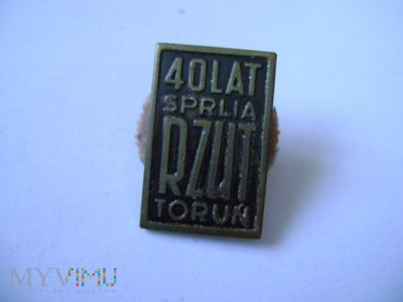 40 lat SPRLIA RZUT Toruń