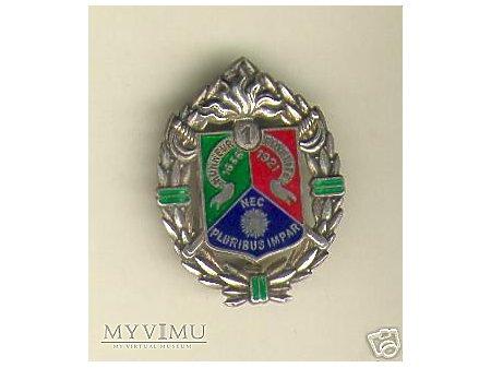 1 REC odznaka pułkowa