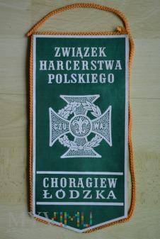 Proporczyk - ZHP Hufiec Zgierz