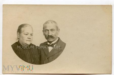 Stare zdjęcie małżeńskie- lata 20-te XX wieku