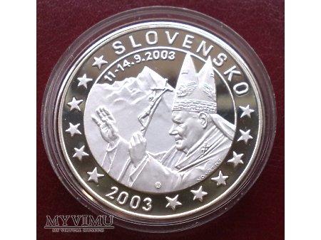 10 Euro z Janem Pawłem II