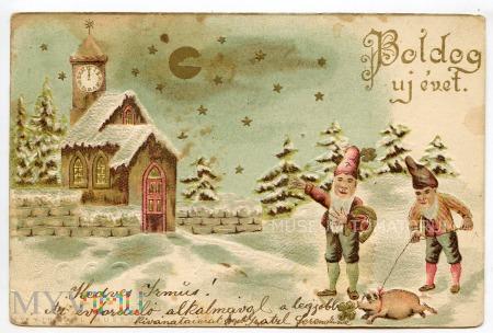 Świnka Noworoczna - 1901