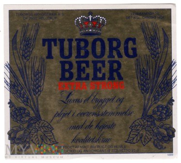 Tuborg Beer Extra Strong