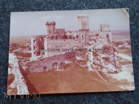OGRODZIENIEC Ruiny zamku z XIV-XV w. z zachowanym