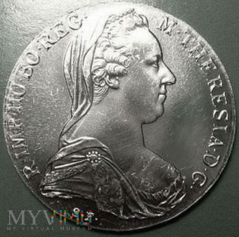 1 talar 1780 r. Austria