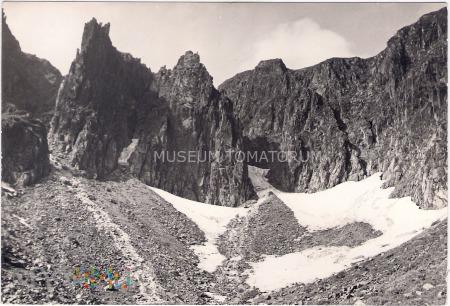 Karkonosze Śnieżne Kotły Schneegrubenbaude 1963