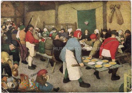 Brueghel - Chłopskie wesele - lata 50-te XX w.