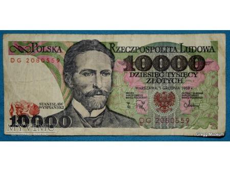 10000 złotych 1988