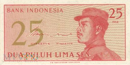 INDONEZJA 25 SEN 1964