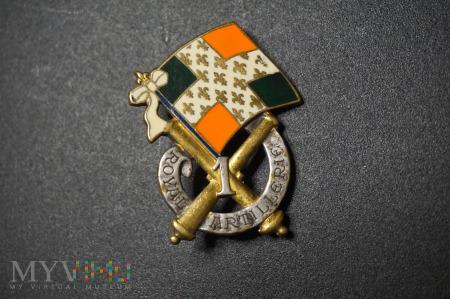 Odznaka 1 Królewski Pułku Artylerii - Francja