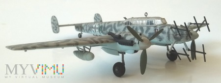 Samolot myśliwski Messerschmitt Bf-110G (mod 1/72)