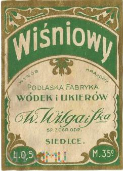 Likier wiśniowy 0,5l - 35%.
