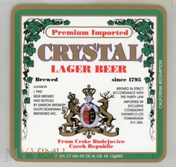 Crystal, Lager Beer