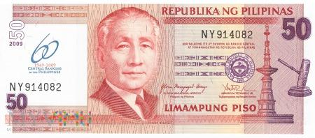 Filipiny - 50 pesos (2009)