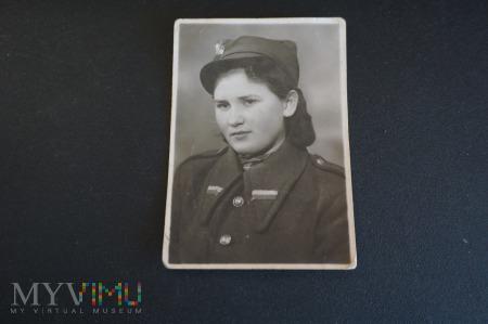 Portret dziewczyny w mundurze - ,, Platerówka'' ??