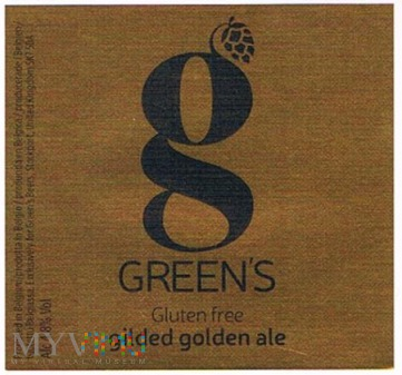 green's gluten free gilded golden ale