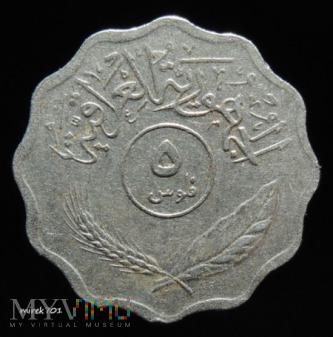 Irak 5 filsów 1975