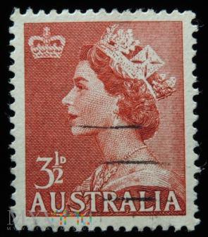 Australia 3 1/2 D Elżbieta II