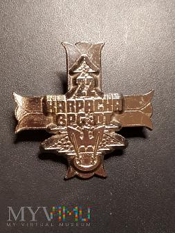 Odznaka 22 Brygady Piechoty Górskiej OT Nr:399