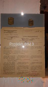 Podatek za psa.1941 r. Deutsche Ordnung.