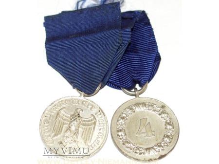 Wehrmacht Medal Za Wysługe 4 klasy