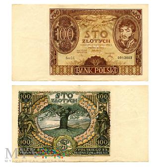 100 złotych 1934 (CC. 0912003)