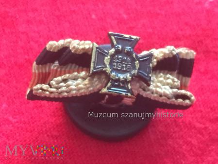 Das Ehrenkreuz des Weltkrieges -guzikówka