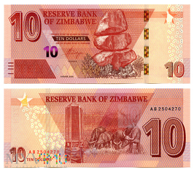 10 Dollars 2020 (AB 2504270)