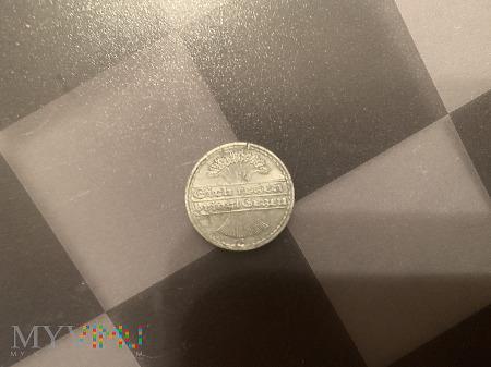 Moneta 50 feningów republiki wajmarskiej