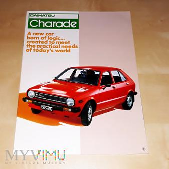 Prospekt Daihatsu Charade 1978