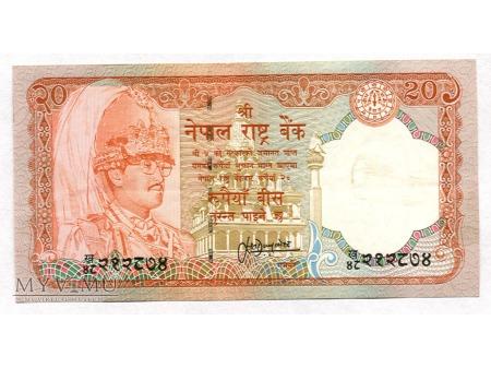 Duże zdjęcie 20 Rupi nepalskich