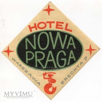 "Polska - Warszawa - Hotel ""Nowa Praga"""